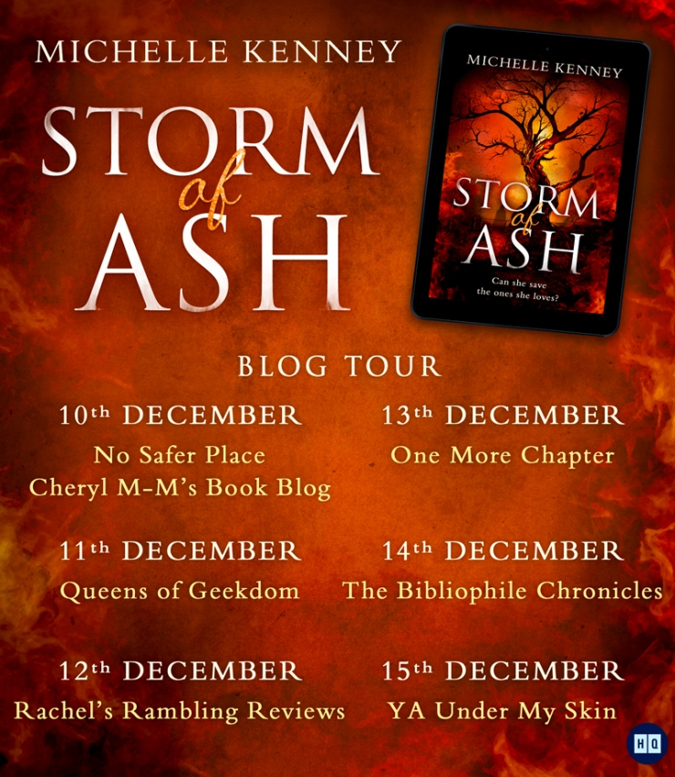 Storm of Ash Blog Tour Banner